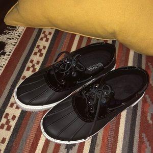 Michael Kors waterproofs shoes in black